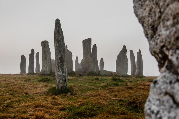 Callanish Stones in the mist