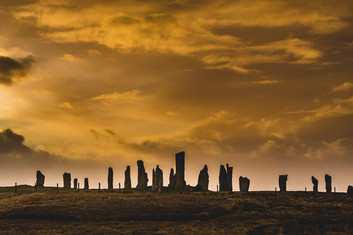 Callanish Stones sunset