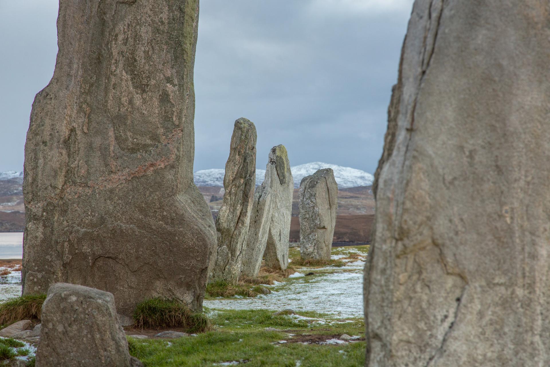 Callanish Stones snow