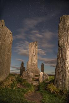 Callanish Stones night time