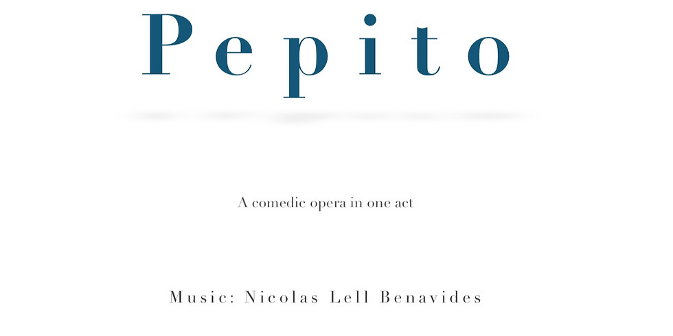 CANCELLED: Pepito (Title Role)