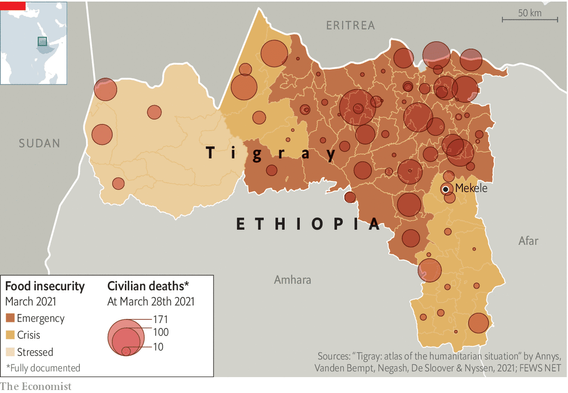 Tigray is edging closer to famine