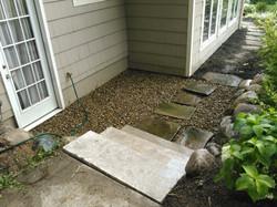Slab Stone steps