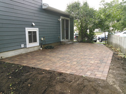 Brick Paver Patio