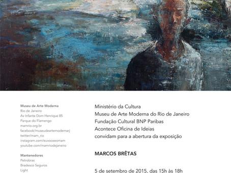 Marcos Brêtas, Exposição