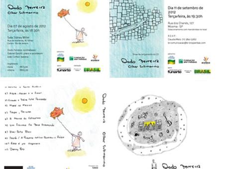'Olhar Submarino'  Gravação e Lançamento CD autoral        Contrabaixista Dodo Ferreira