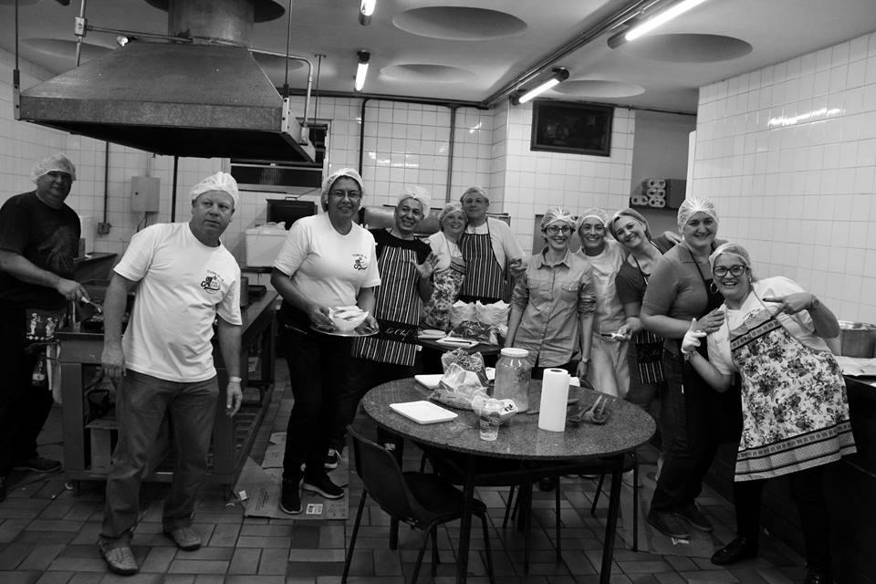 Alguns dos tios maravilhosos que sempre nos apoiam e ajudaram na realização do evento