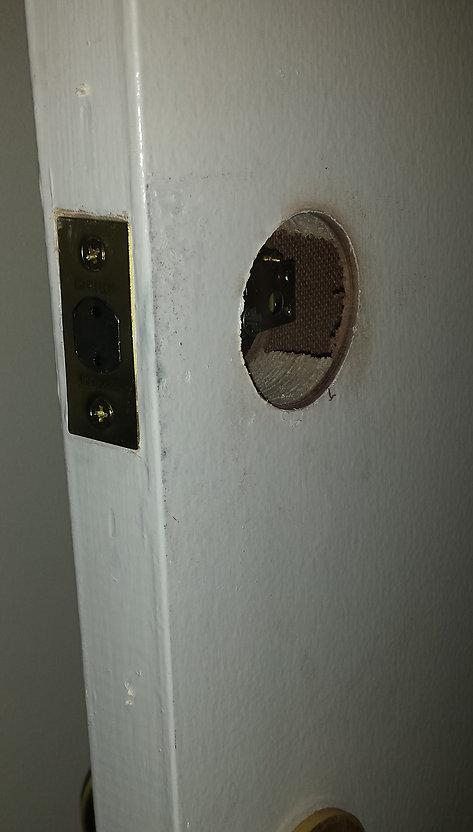 new hole
