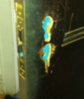 lock removed