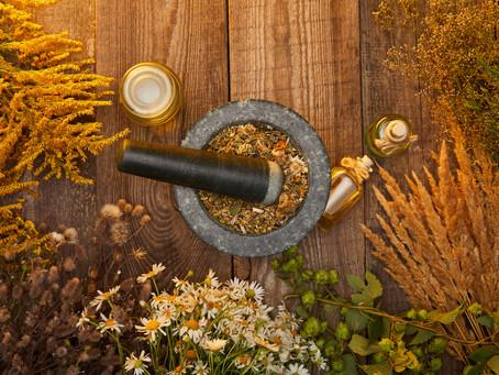 Using your Garden's Fall Herbal Bounty: Drying Herbs & Flavoring Salts, Vinegars, & Oils