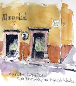 El Manantial cantina