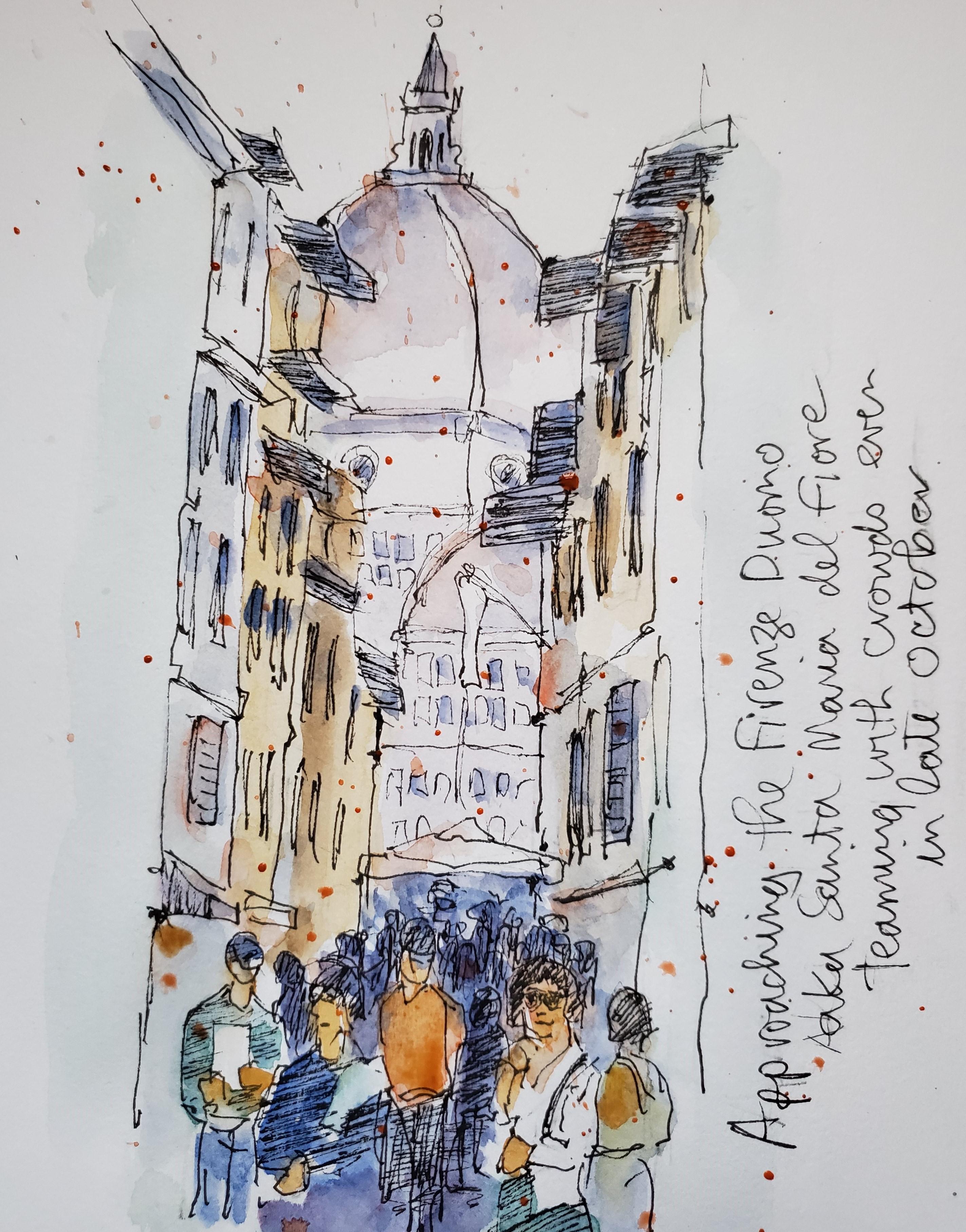 Firenze approaching Duomo