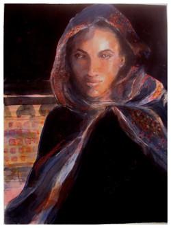 "Morocco Medina 3  18""w x 26""h Print"