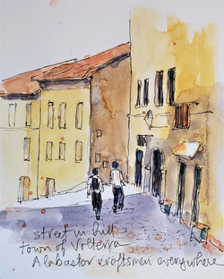 Fiesole side street