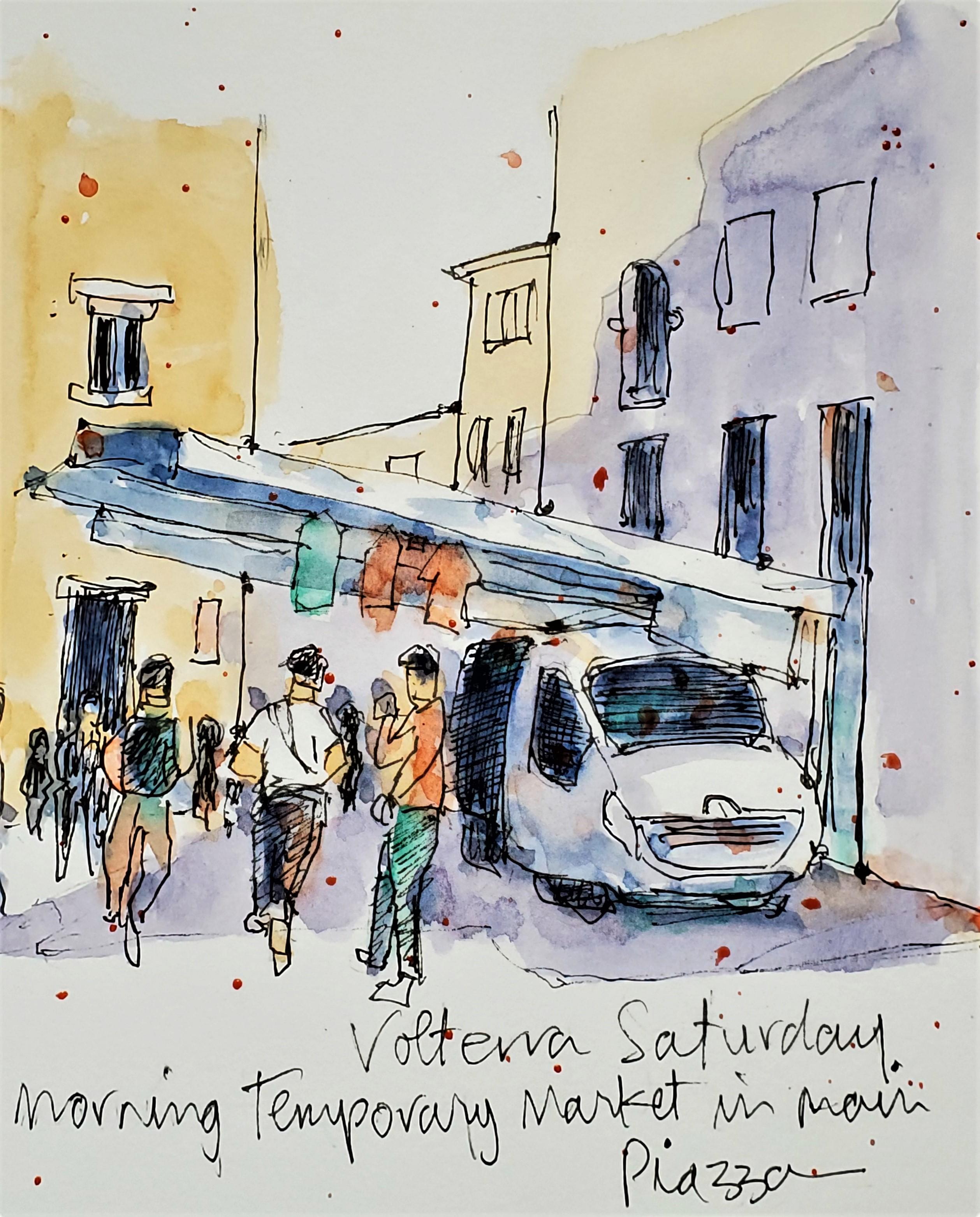Volterra Saturday Market