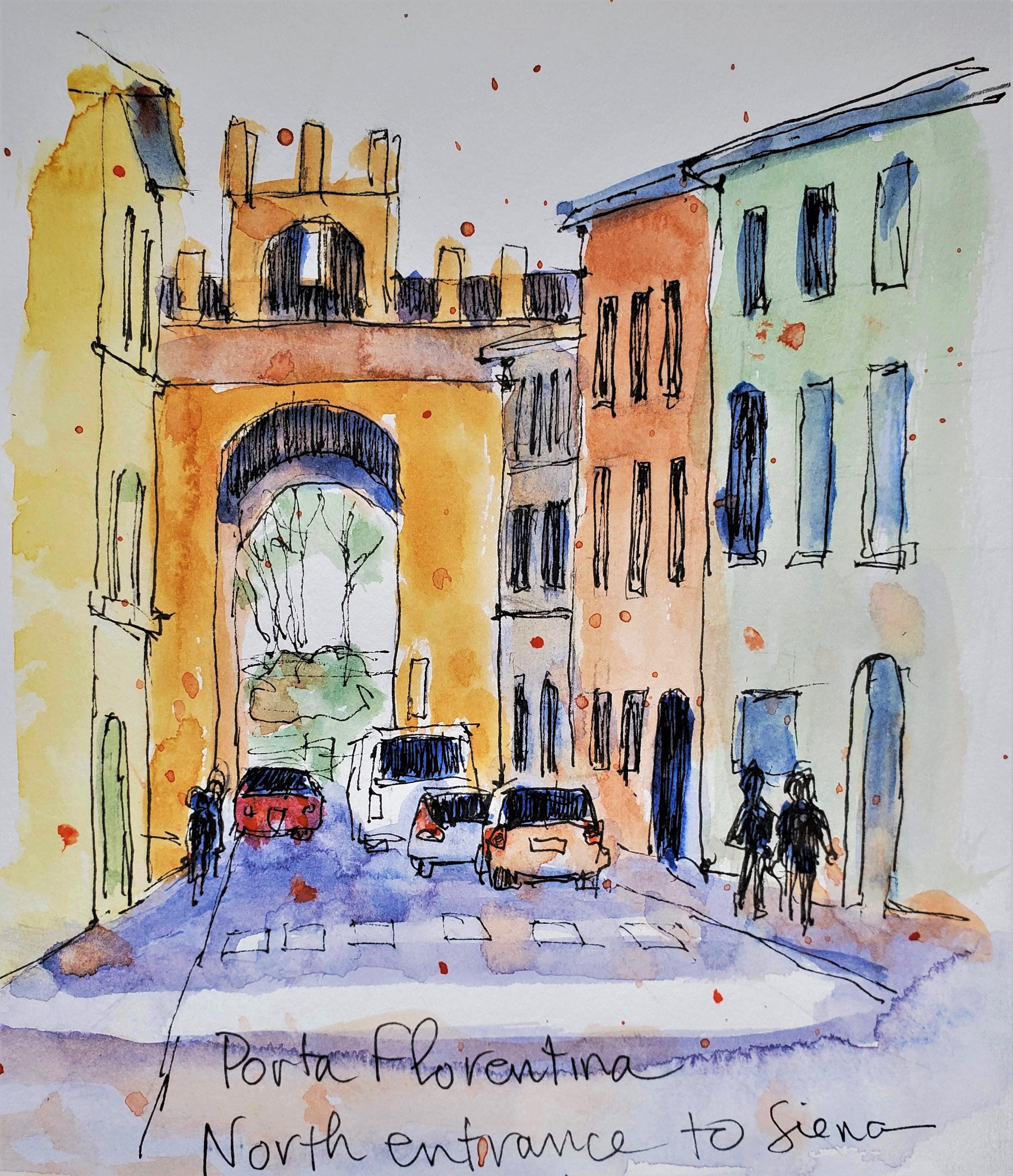 Siena Entrance Gate