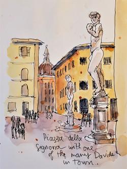 Firenze Piazza della Signora