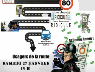 New French Speed Limits - 27 Jan