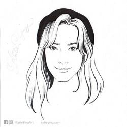 20 mins Portrait Drawing