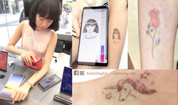 Samsung Live drawing