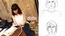 Live Drawing for brand event