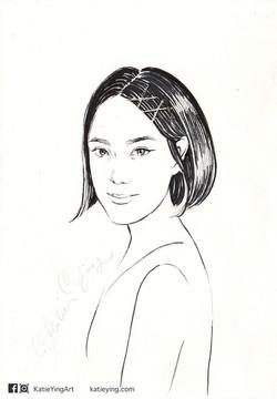 18 mins Portrait Drawing