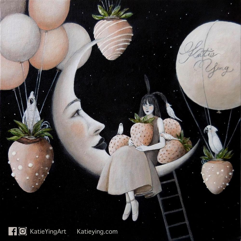 粉月亮 Pink Moon