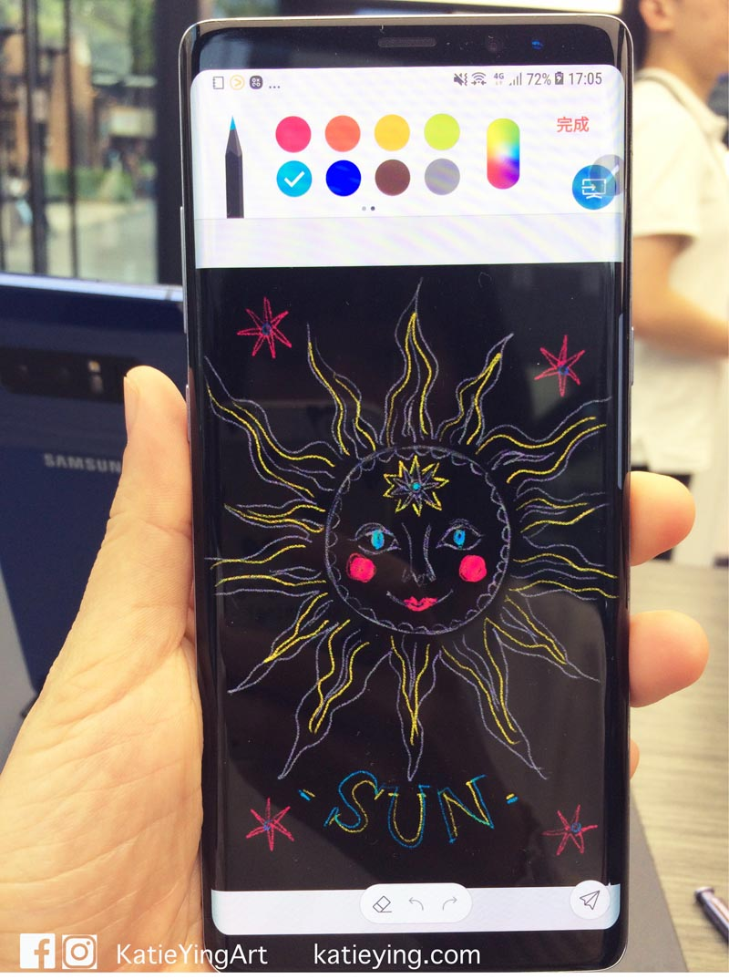 Samsung live drawing