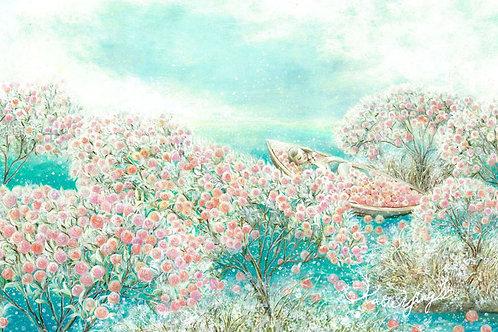 Postcard / Candy Tree