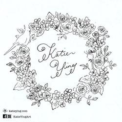 手寫英文書法 Calligraphy