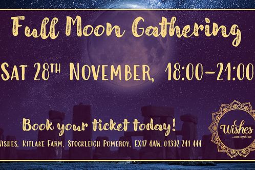 Full Moon Gathering - November