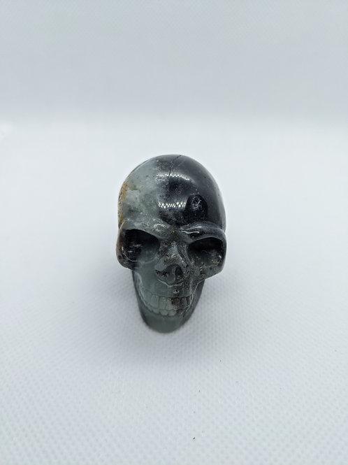 Amazonite Skull - Hand Carved