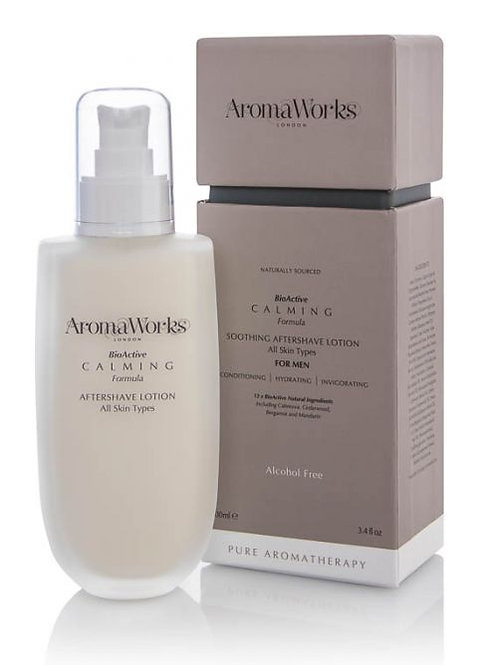 Men's Calming Aftershave Lotion