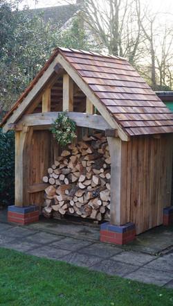 Log store filled