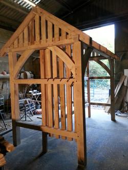 Large log store frame