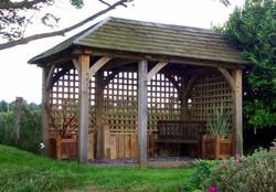 Cosy garden retreat