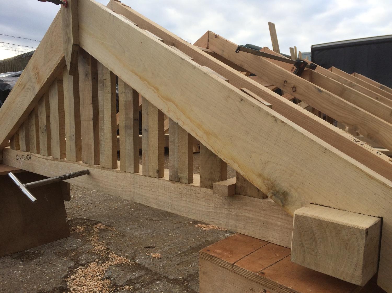 Oak store roof