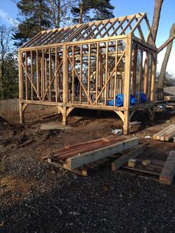 Summerhouse frame