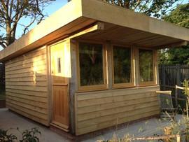 Modern take on our oak frame shed.jpg