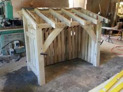 Small log storage