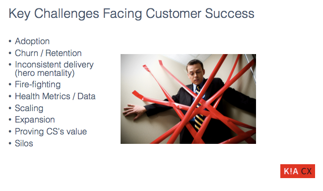 Customer Success Key Challenges