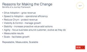 Case for Customer Success Case for Change
