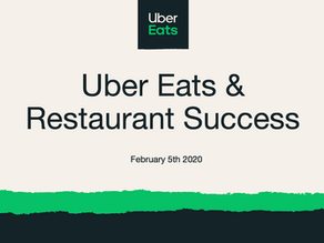 How Uber Eats Manages Enterprise Partnerships