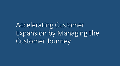 Accelerating Customer Expansion by Manag
