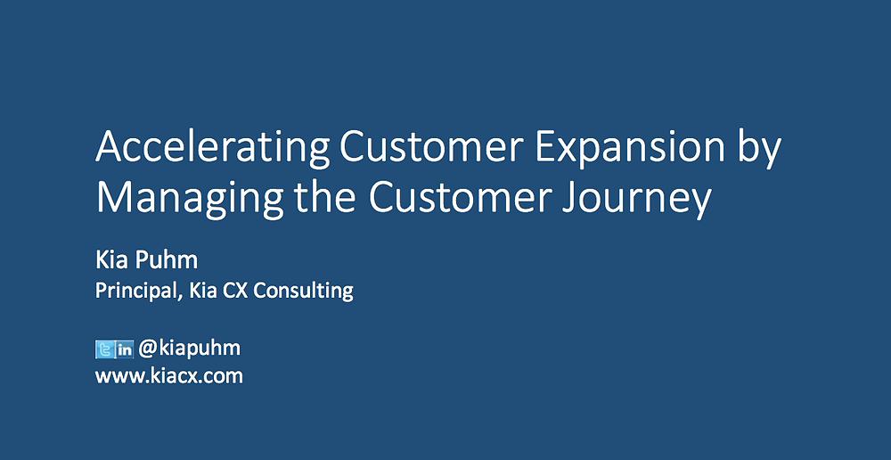 Customer Expansion Customer Journey Customer Management