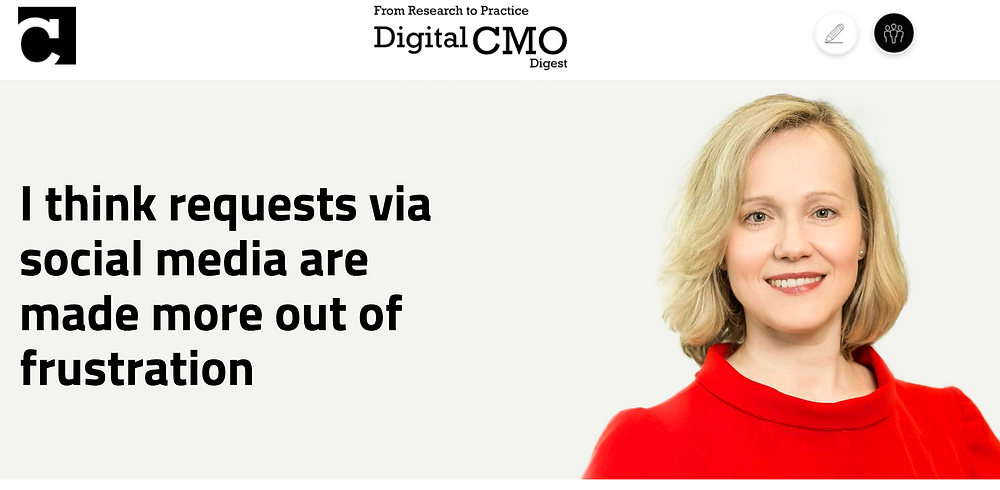 Digital CMO Interview Tips