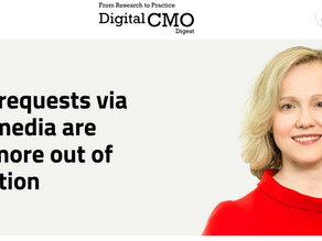 My Recent Interview with Digital CMO Digest