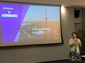 Who Owns the Customers? Toronto CS Executive Breakfast Review