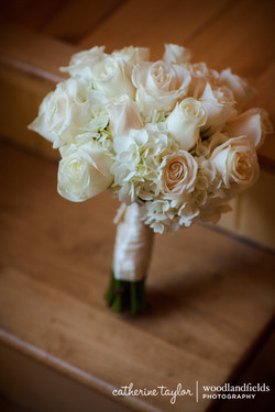 Hydrangea + Roses