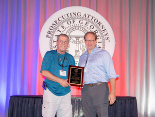 Robinson selected as Investigator of the Year